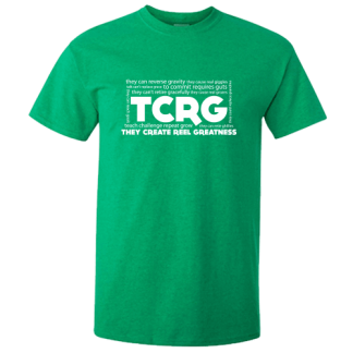 TCRG Antique Irish Green Irish Dance TShirt