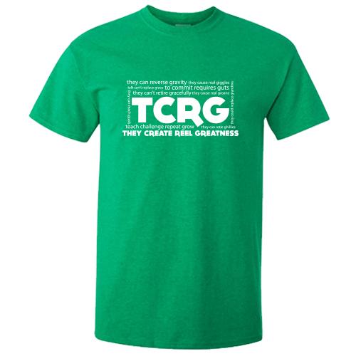 TCRG Antique Irish Green Irish Dance TShirt