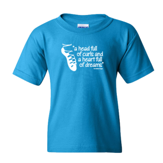 Head Full of Curls Irish Dance TShirt