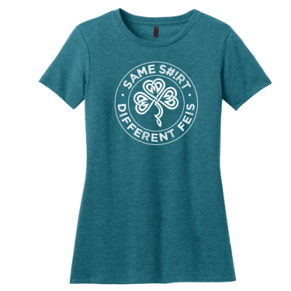 Same Shirt Different Feis Contoured Irish Dance TShirt