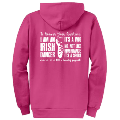 To Answer Your Questions Irish Dance Hoodie