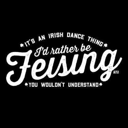 Id Rather Be Feising Logo