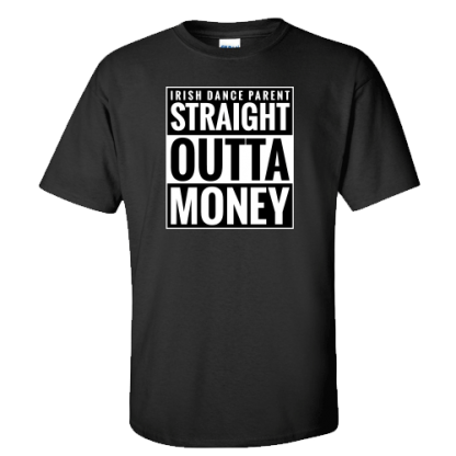 Straight Outta Money Classic Black