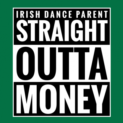 Straight Outta Money Classic Logo