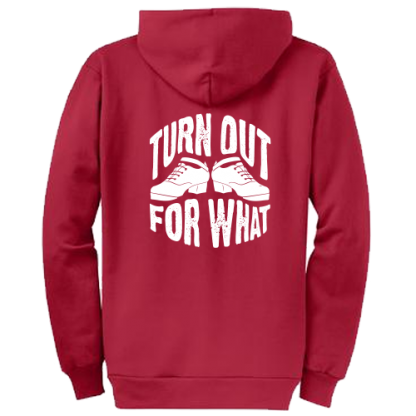 Turn Out For What Hard Shoes Irish Dance Hoodie