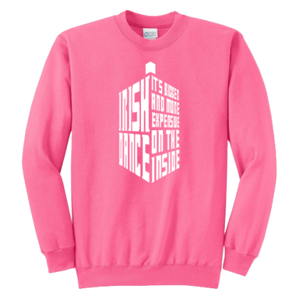 Tardis Irish Dance Sweatshirt