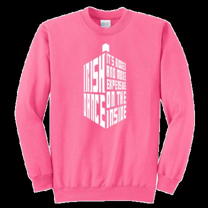 Tardis Irish Dance Sweatshirt