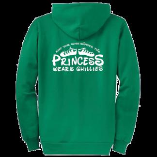 This Princess Wears Ghillies Zipped Hoodie