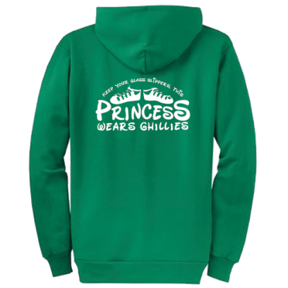 This Princess Wears Ghillies Zipped Hoodie