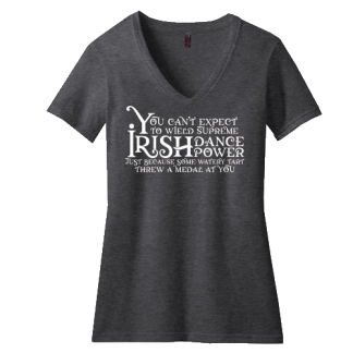 Supreme Irish Dance Power Contour V Neck