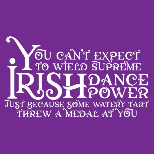 Supreme Irish Dance Power Logo