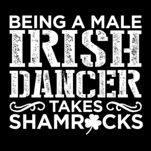Male Irish Dancer Takes Shamrocks