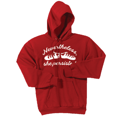 Nevertheless She Persisted Ghillies Hoodie