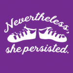 Nevertheless She Persisted Ghillies Logo