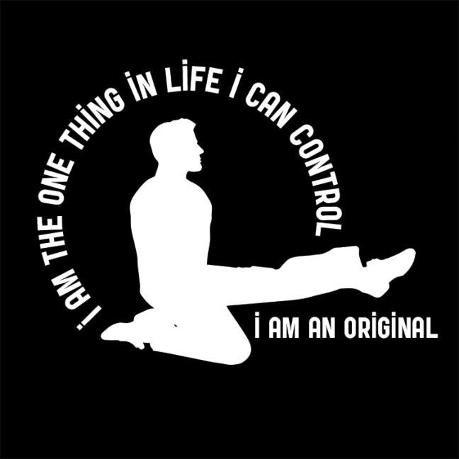 Male I Am The One Thing Icon