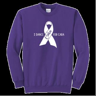 I Dance For Cara Crew Sweatshirt