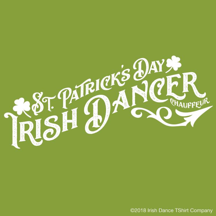 St Patricks Day Irish Dancer Chauffeur Icon