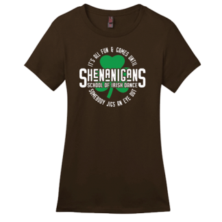 Shenanigans School Of Irish Dance Contour Crew Neck