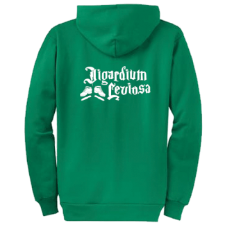 Jigardium Leviosa Hard Shoes ZippedHoodie