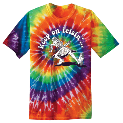 Keep On Feisin Tie Dye Rainbow