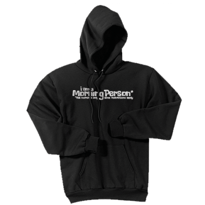 Morning Person Hoodie