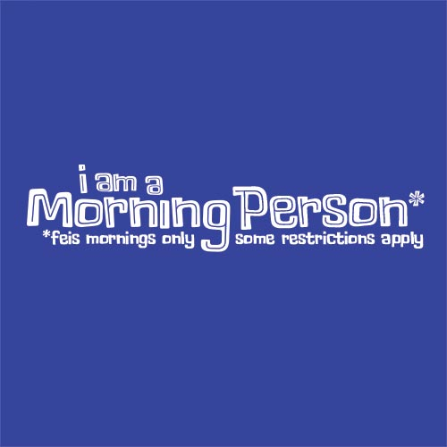 Morning Person Icon