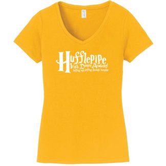 Hufflepipe Irish Dance Academy Ladies V Neck