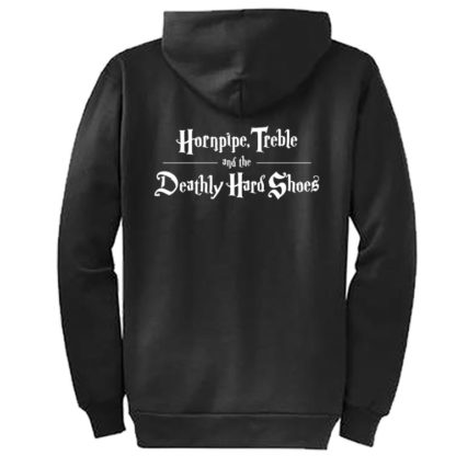 Deathly Hard Shoes Crew Zip Hoodie