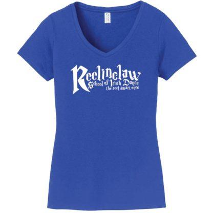 Reelinclaw School of Irish Dance Ladies V Neck