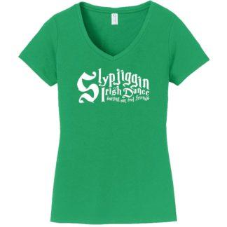 Slypjiggin Irish Dance Ladies V Neck