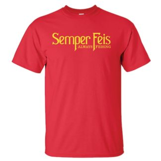 Semper Feis Classic Red Irish Dance TShirt