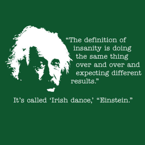 Einstein Irish Dance TShirt